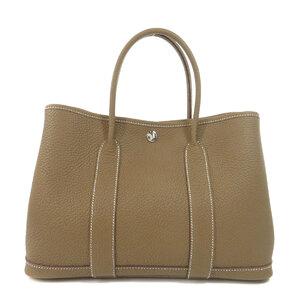 Hermes Garden Party TPM Etoop Tote Bag Leather Ladies