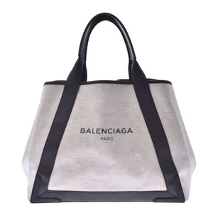 BALENCIAGA Navy Hippo M Unisex Leather Handbag