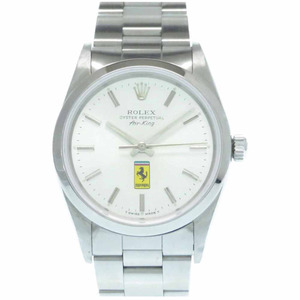 ROLEX Air King 14000 N Serial Steel Automatic Mens Watch