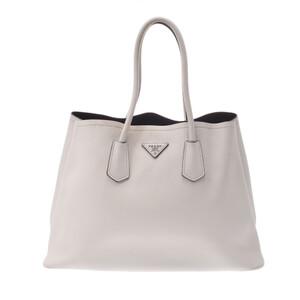 PRADA Prada Tote Bag Ivory BR5070 Ladies Calf Handbag