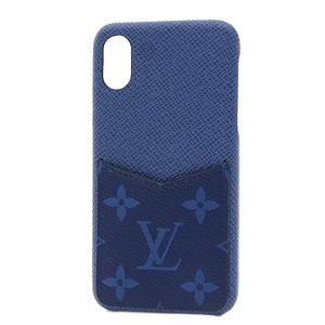 Louis Vuitton Taigarama IPHONE Bumper XS iPhone Case X & Compatible Cobalt M67680