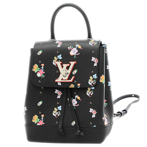 Louis Vuitton Rock Me Backpack Floral Print Calf Leather M54848