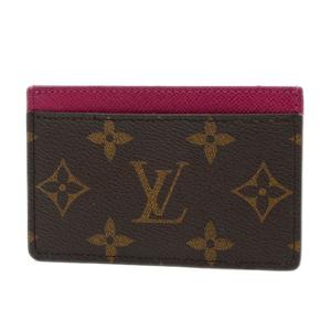 Louis Vuitton Monogram Card Case Porto Cult Sample Fuchsia M60703