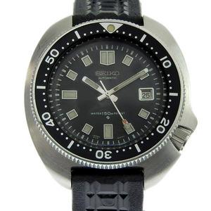 SEIKO Diver 150M Uemura Naomi Model Steel Rubber Automatic Mens Watch 6105-8110