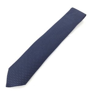 Hermes Necktie Fasone H Silk Black Men