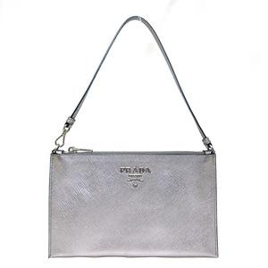 Prada PRADA Shoulder Cla Bag Accessory Pouch Ladies Saffiano Leather 1NH004