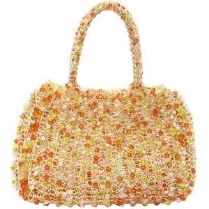 ANTEPRIMA Bag Wire Fake Pearl Acrylic Stone Multicolor Ladies