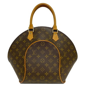 Louis Vuitton Ellipse MM Brown Monogram M51126 Handbag Nume Leather Ml0968 Ladies Tote Bag