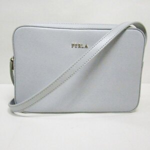 Furla FURLA Lilli Light Blue Bag Shoulder Ladies