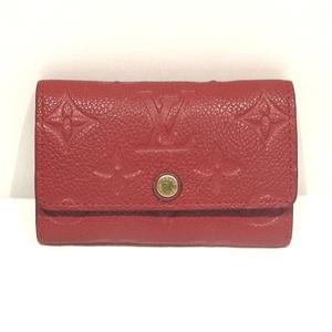 Louis Vuitton Monogram Amplant Multikre 6 Key Case M63708 Ladies