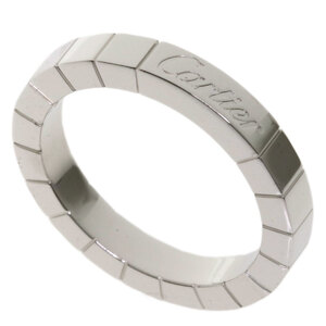 Cartier Lanier Ring / K18 White Gold Ladies
