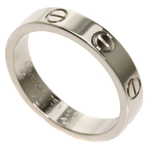 Cartier Mini Love Ring / K18 White Gold Ladies