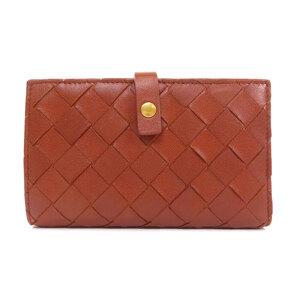 Bottega Veneta Intrecciato Bi-Fold Wallet Calf Unisex