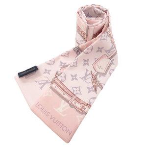 Louis Vuitton M70637 Bando Monogram Confidential Scarf Silk Ladies