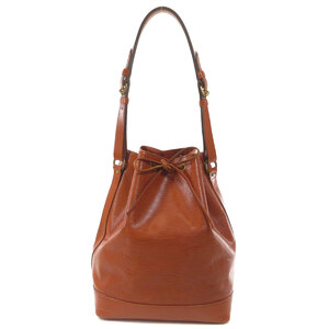 Louis Vuitton M44003 Noe Epi Kenya Brown Shoulder Bag Leather Ladies