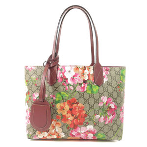 Gucci 372613 GG Blooms Reversible Tote Bag PVC Ladies