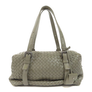 Bottega Veneta Intrecciato Boston Bag Leather Ladies