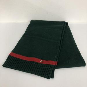Gucci muffler green red
