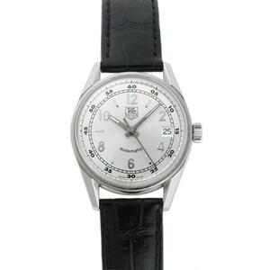 TAG HEUER Carerra Steel Leather Automatic Mens Watch WV2112