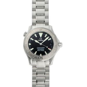 OMEGA Seamaster Pro 300M White Gold Steel Mid Size Watch 2236.50