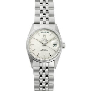 TUDOR Oyster Prince Date Day Steel Automatic Mens Watch 94710