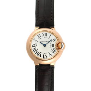 CARTIER Ballon Bleu 18K Pink Gold Quartz Ladies Watch W6900256