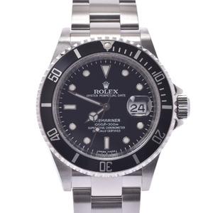 ROLEX ロレックス サブマリーナ 黒ベゼル 16610 メンズ 時計 自動巻き 黒文字盤