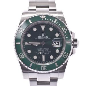 ROLEX ロレックス サブマリーナ 116610LV メンズ 時計 自動巻き 緑文字盤
