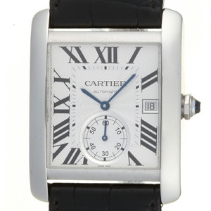 CARTIER Tank MC LM Steel Automatic Mens Watch W5330003