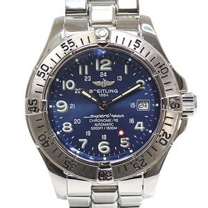 BREITLING Breitling Men's Watch Super Ocean Chronometer A17360 Blue Dial