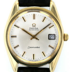 Omega OMEGA Seamaster Date Automatic Silver Dial Men's Watch