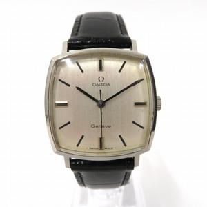 Omega Geneva Manual Winding Silver Dial Watch Men
