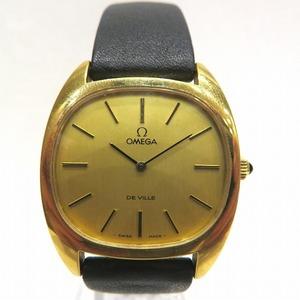 Omega Devil 111.0132 Manual Winding Gold Dial Watch Men's