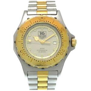 TAG Heuer 3000 Series Professional Combi Quartz Watch Gold Silver Ladies