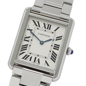 Cartier Watch W5200014 Tank Solo LM Quartz Square Mens