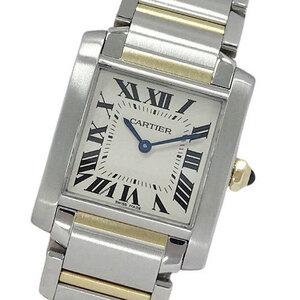 Cartier Watch W51012Q4 Tank Francaise MM Quartz Boys