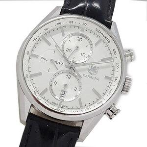 TAG Heuer watch CAR2111 FC6266 Carrera chronograph caliber 1887 self-winding men's back scale