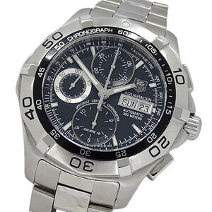 TAG Heuer Watch CAF5010 BA0815 Aqua Racer Chronograph Day-Date Chronometer Automatic Men's