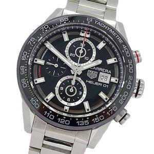 TAG Heuer watch CAR201Z BA0714 Carrera caliber 01 chronograph self-winding men's back scale