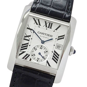 Cartier Watch W5330003 Tank MC Self-winding Date Men's Back Scale