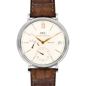 International Watch Company IWC Portofino Handwind 8 Days Men's Manual Winding Silver Dial IW510103
