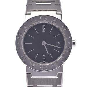BVLGARI ブルガリ ブルガリブルガリ26 BB26ステンレススチール レディース 時計 クォーツ 黒文字盤