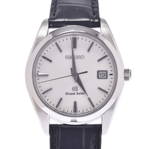 SEIKO Seiko Grand 9F62-0AB0 / SBGX095 Men's Leather Watch White Dial