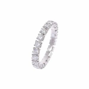 CARTIER Cartier Destine Wedding Diamond 1.51ct ♯50 9.5 Ladies Pt950 Platinum Ring /
