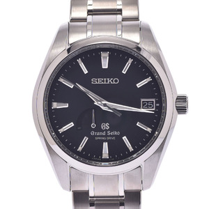 SEIKO セイコー グランドセイコー マスターショップ限定 裏スケ SBGA041 ボーイズ チタン 時計 黒文字盤