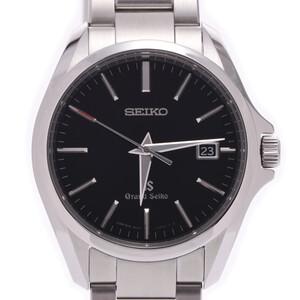 SEIKO セイコー グランドセイコー SBGX083 ボーイズ 時計 クォーツ 黒文字盤