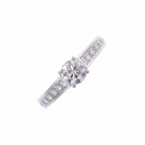 CARTIER Cartier MK Cofill Ring Diamond No. 5 Ladies Pt950 Platinum /