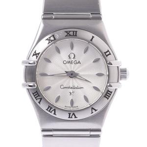 OMEGA オメガ コンステレーション 1582.30 レディース 時計 クォーツ シルバー文字盤