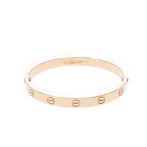 CARTIER Cartier love bracelet old unisex K18 yellow gold