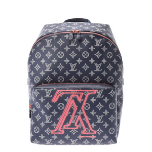LOUIS VUITTON Monogram Ink Upside Down Apollo Backpack M43676 Men's Daypack